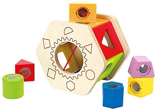 Hape Hape Shake and Match Shape Sorter
