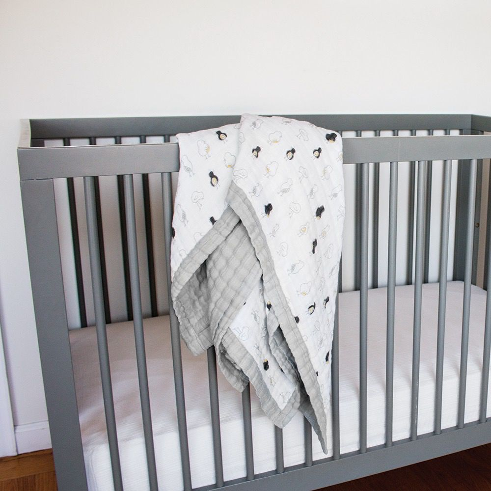Bebe Au Lait Bebe Au Lait Luxury Muslin Snuggle Blanket