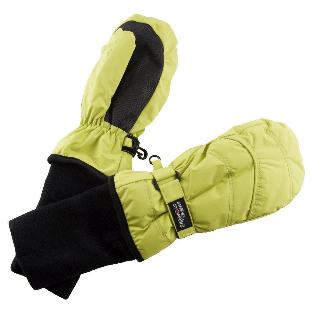 SnowStoppers Snow Stopper Nylon Mittens