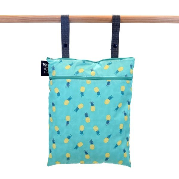 Colibri Colibri Double Duty Wet Bag - Original<br /> Machine wash cold / low dry or hand wash and hang to dry.