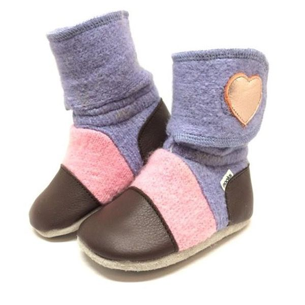 Nooks Nooks Felted Wool Booties