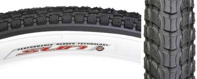 Kenda Sunlight 927 26x 2.125 Sun logo street tire blk/wht
