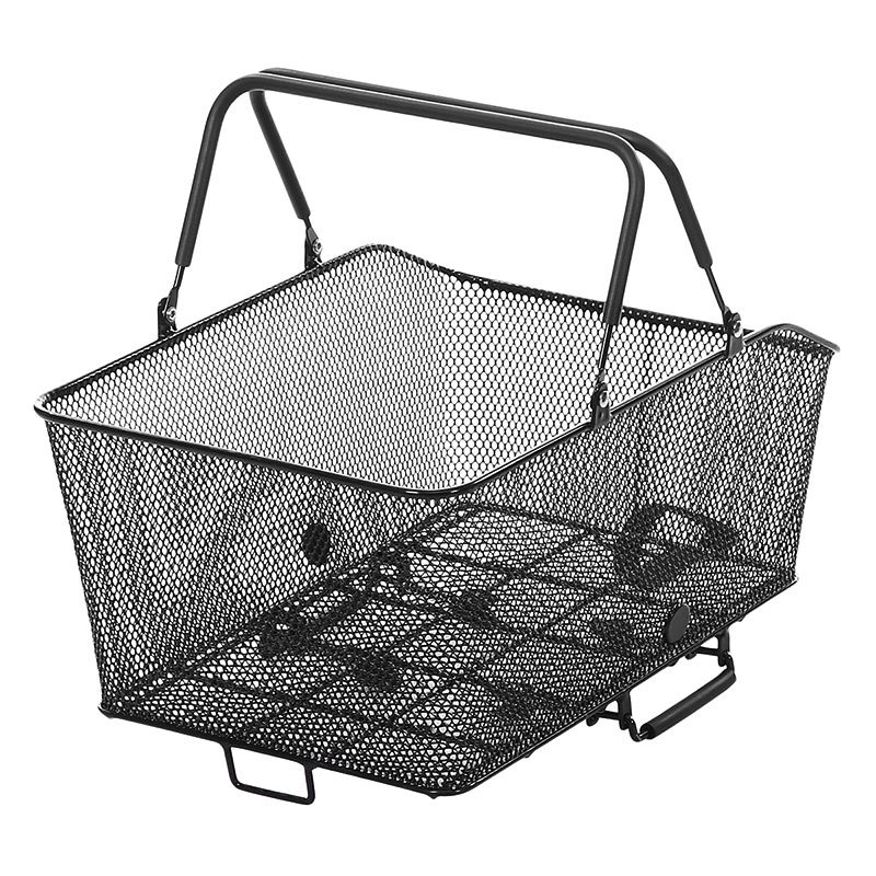 SunLite Sunlite Rear Rack Top Mesh QR Grocery Basket Black