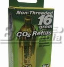 Innovations in Cycl. Innovations Co2 16g Non Threaded Inflation Cartridge Box of 2