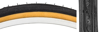 Kenda SunLite  26 x 1/38 Bk/Gm tire Raised Cntr. k40
