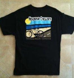 Hermosa Cyclery HC T-Shirt - Black Large