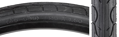 SunLite Sunlite tire 26x1.5 Black KWEST