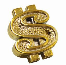 Triktopz Triktopz Dollar Signs,gold - valve cap #DOC-GD