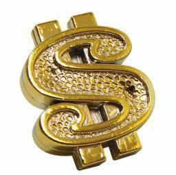 Triktopz Triktopz Gold Dollar Signs Valve Caps