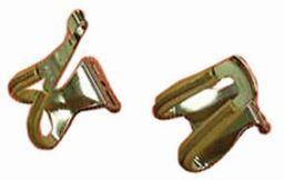 MKS MKS  toe clip M w/brown leather 75S