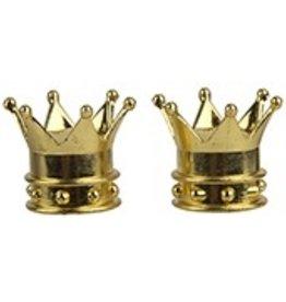 Triktopz Triktopz Crown,Gold - valve cap #
