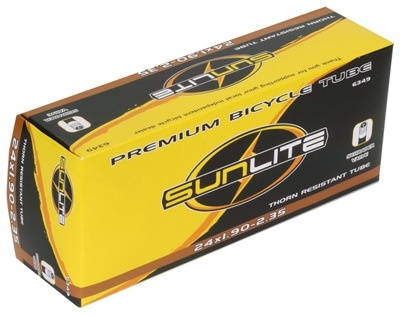 Pyramid SunLite 24 x 1.90-2.35 Thorn Resistant Tube SV
