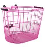 SunLite Sunlite Oval Mesh Lift Off Basket Pink