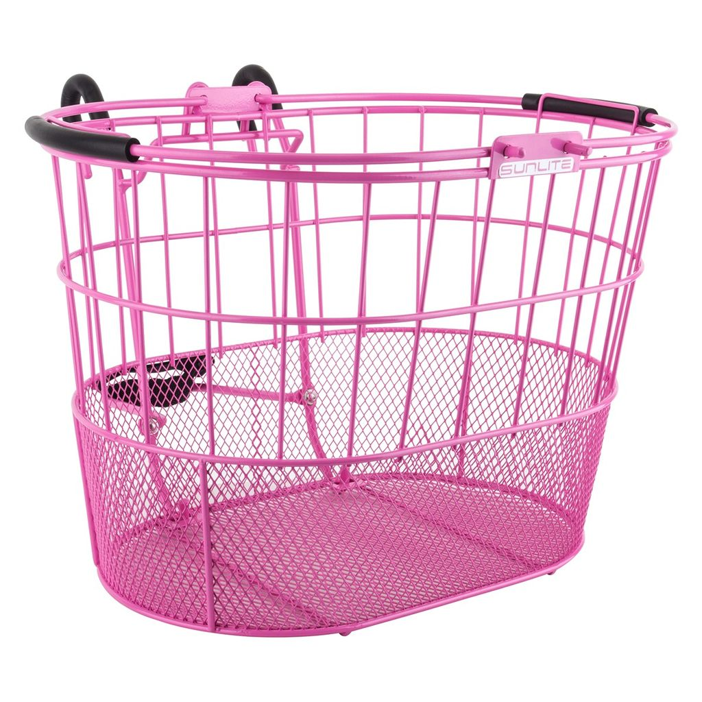 SunLite Sunlite Oval Mesh Lift Off Basket Pink