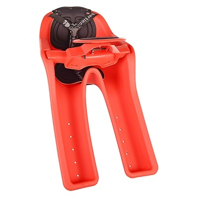 J & B Importers iBert Safe T Seat Front Mounted Child Bicycle Seat Red 38lb max