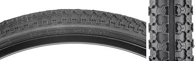 IRC Sunlite 26x1.75 MTB Raised Center Tire, Black/Black