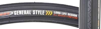 CST CST Road Raised Center Blk/Blk tire Ct-638. 27x1-1/4