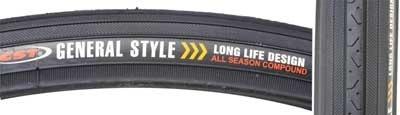 CST CST Road Raised Center Blk/Blk tire Ct-638. 27x1-1/4