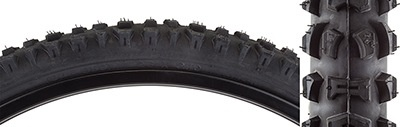 Pyramid Sunlite 26x2.10 Black wall Smoke K816 Knobby tread Tire