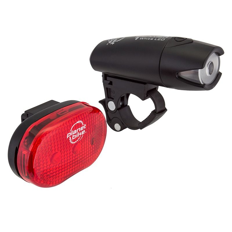 Planet Bike Planet Bike Beamer Combo head & tail light set