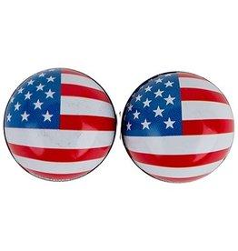 Triktopz Triktopz USA Flag,red/white/blue - valve cap #FCG-US