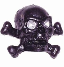 Triktopz Triktopz Skull & Crossbones,chrome - valve cap #SKC-CH