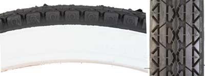 Pyramid Sunlite 26 x 2.125 CST241 street tire, blk/wht