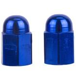 Triktopz Triktopz Hex Dome,blue - valve cap #HDC-BL