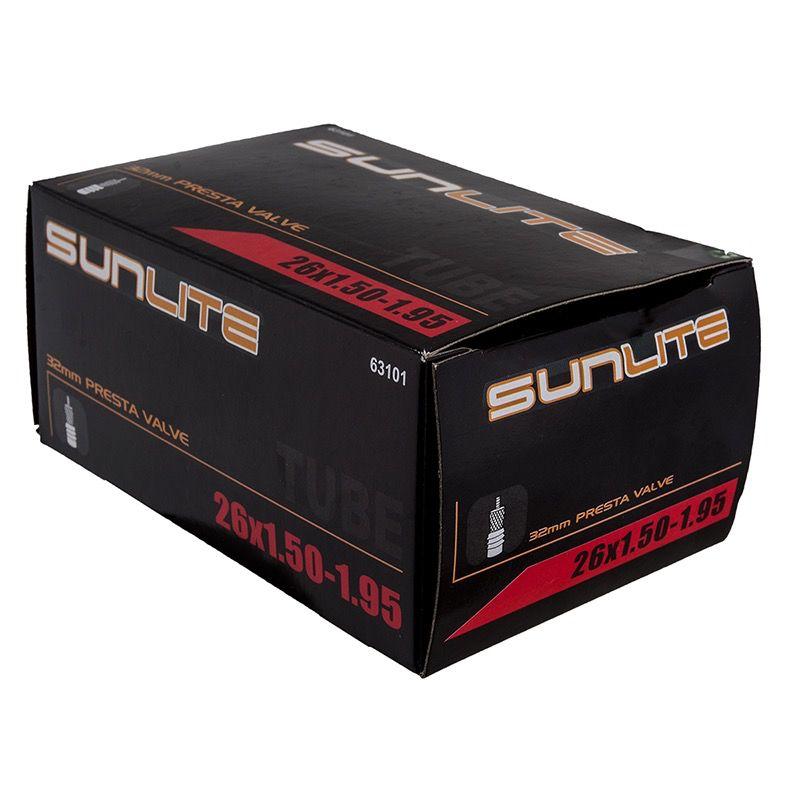 SunLite SunLite 26 x 1.50-1.95 Tube 32mm PV