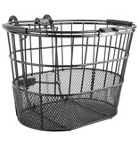 SunLite Sunlite Mesh Bottom Lift-Off Oval Basket Black