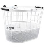 SunLite Sunlite Mesh Bottom Lift-Off Oval Basket White