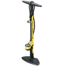 Topeak Topeak JoeBlow II floor pump, 160psi, yellow