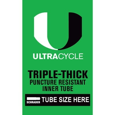 Ultracycle SunLite 16 x 1.90-2.125 Thorn Resistant Tube SV