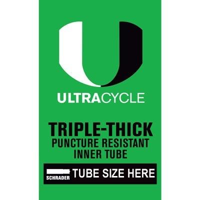 Ultracycle SunLite 16 x 1.90-2.125 Thorn Resistant Tube SV