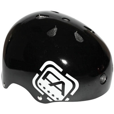Free Agent Free Agent Street,gloss black one size fits all Helmet