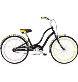 "Electra Savannah 1 20"" Black Girls'"