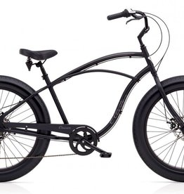 Electra Electra Cruiser Lux Fat Tire 7D, Men's, Black