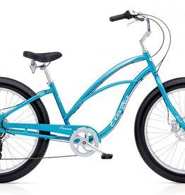 Electra Electra Cruiser Lux Fat Tire 7D, Ladies', Blue Metallic