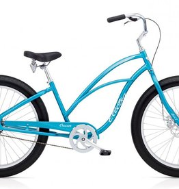 Electra Electra Cruiser Lux Fat Tire 1, Ladies', Blue Metallic