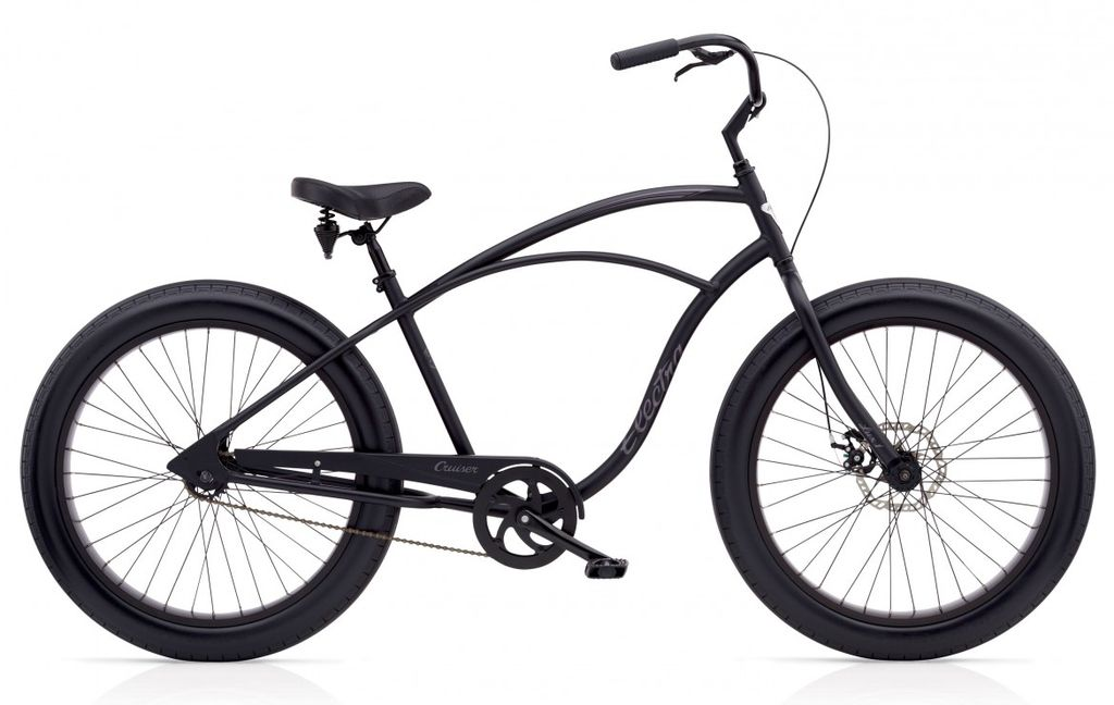 Electra Electra Cruiser Lux Fat Tire 1, Men's, Black
