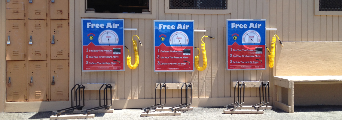 Free Air Stations