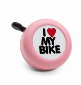 Electra I Love My Bike Bell (Pink)