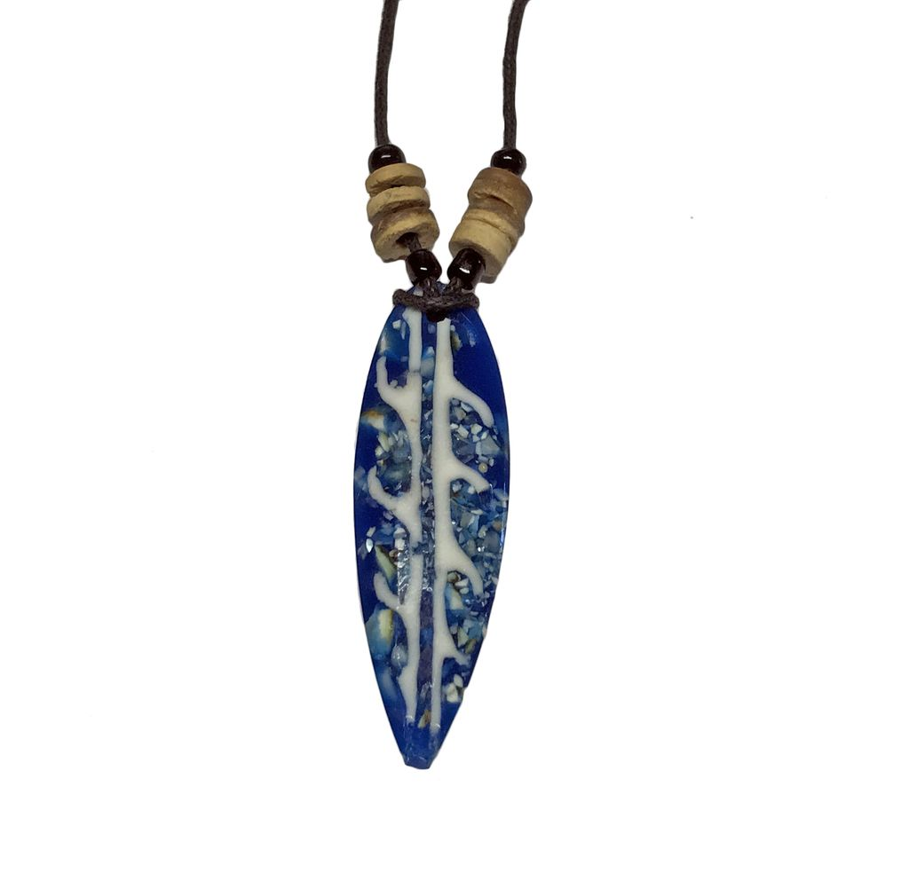 Tourch Surf International Surfboard Necklace