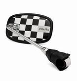 Electra Electra Black Checkerboard Handlebar Mirror