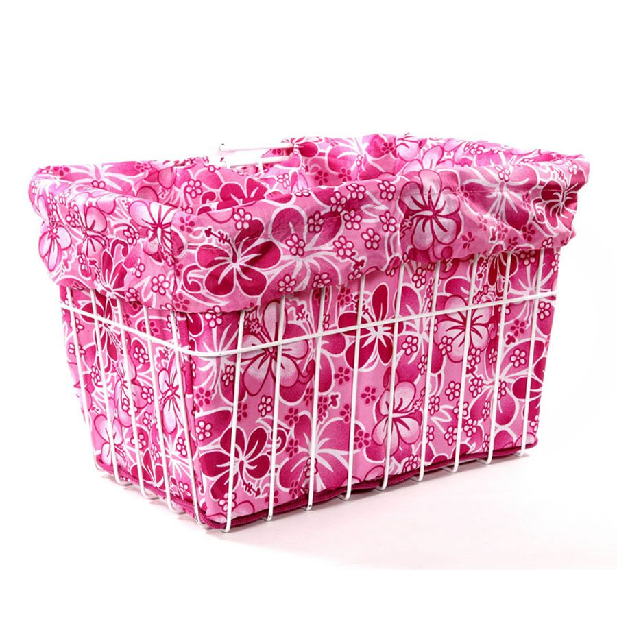 Cruiser Candy Pink Hawaiian Basket Liner