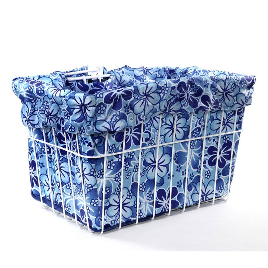 Cruiser Candy Blue Hawaiian Basket Liner