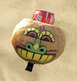 Cruiser Candy All Natural Hand Made Coconut Drink Holder - Glad Face