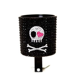 Cruiser Candy Skull Rhinestone Drink Holder