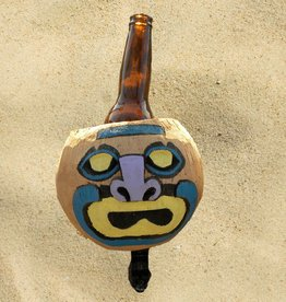 Cruiser Candy All Natural Hand Made Coconut Drink Holder - Mad Face