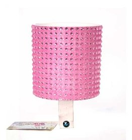 Cruiser Candy Lt. Pink Rhinestone Drink Holder